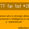 being attracted to someone s intelligence