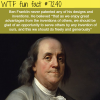 ben franklin wtf fun fact