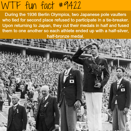 Berlin Olympics - WTF fun fact