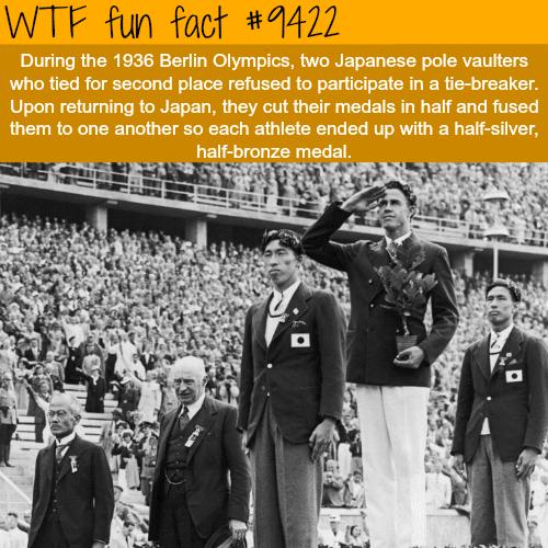 Berlin Olympics - WTF fun fact