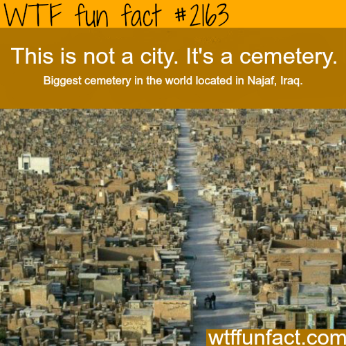Biggest Cemetery in the world -WTF fun facts