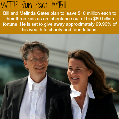 Bill and Melinda Gates - WTF fun fact
