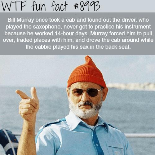 Bill Murray - WTF fun fact