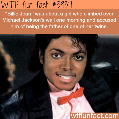 Billie Jean - Michael Jackson - WTF fun facts