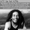 bob marleys no woman no cry wtf fun facts
