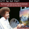 bob ross facts wtf fun facts