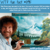 bob ross wtf fun facts