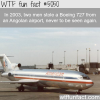 boeing 727 stolen and never found again wtf fun