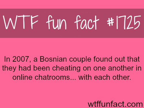 Bosnian couple caught cheating on each other!WTF fun facts