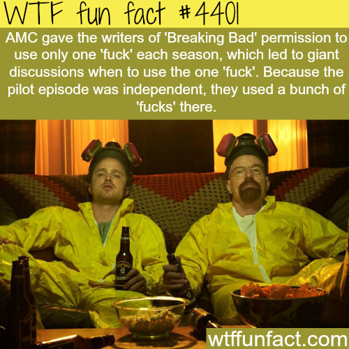 Breaking Bad -   WTF fun facts