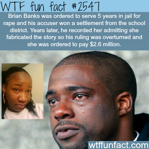 Brian Banks rape Case - WTF fun facts
