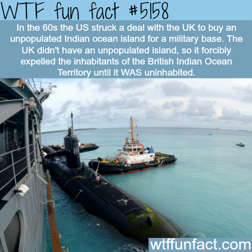 British Indian Ocean Territories - WTF fun facts