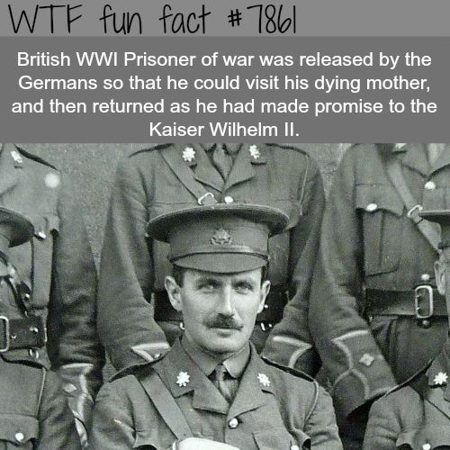 British prisoner returned to prison after he was released - WTF fun facts