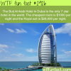 burj al arab hotel the only 7 star hotel