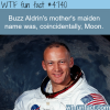 buzz aldrins mothers maiden name was moon wtf