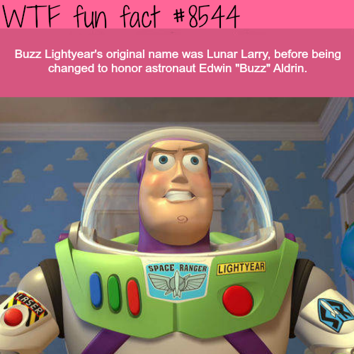 Buzz Lightyear's original name - WTF fun facts