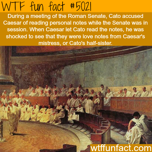 Caesar facts - WTF fun facts