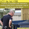 canadian man saves a baby from a dumpster turns out he