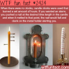 candle clocks