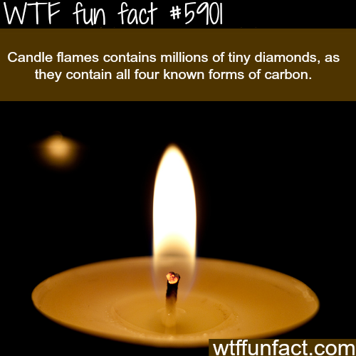 Candle flames - WTF fun facts