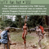 cannibal holocaust wtf fun fact