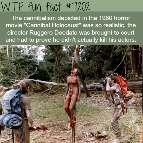 Cannibal Holocaust - WTF Fun Fact