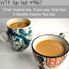 chai tea wtf fun fact