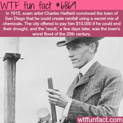 Charles Hatfield - WTF fun fact