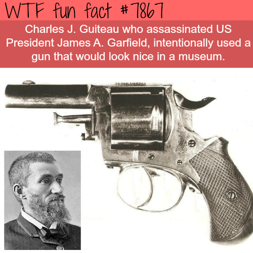 Charles J. Guiteau - WTF fun fact