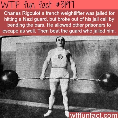 Charles Rigoulot -WTF fun facts