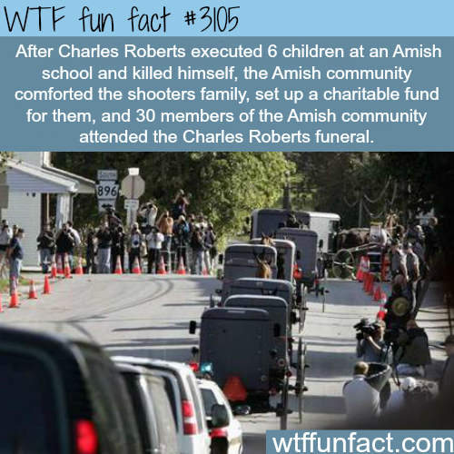 Charles Roberts funeral -  WTF fun facts