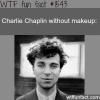 charlie chaplin without makeup