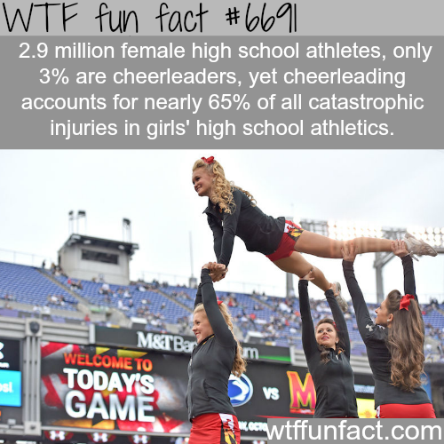 Cheerleaders - WTF fun fact