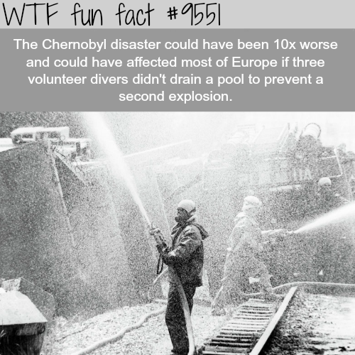 Chernobyl Disaster - WTF fun fact