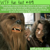 chewbacca and bigfoot