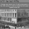 chicago raised by over 4 ft wtf fun facts