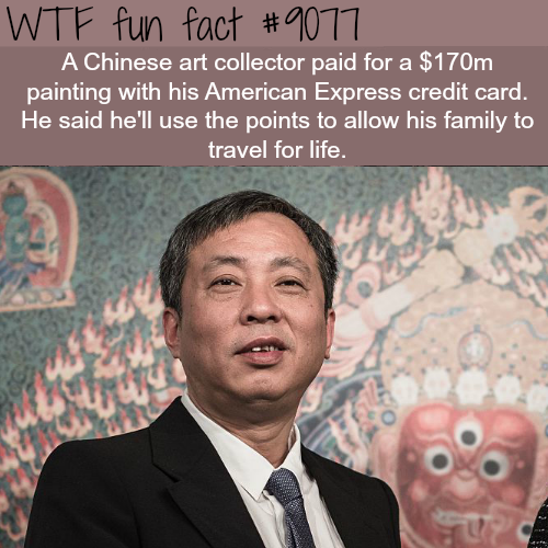 Chinese art collector - WTF fun facts