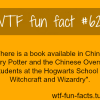 chinese harry potter