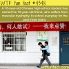 chinese high school students carried his friend