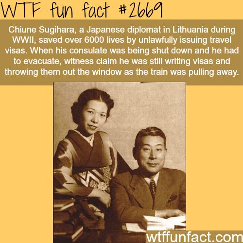 Chiune Sugihara -WTF funfacts