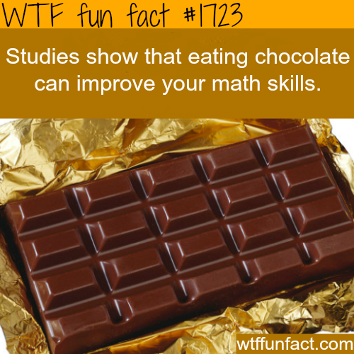 Choclate health facts - WTF fun facts
