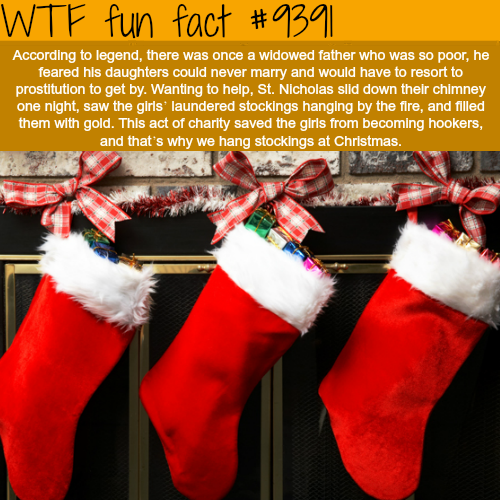 Chrismas Traditions - WTF fun facts