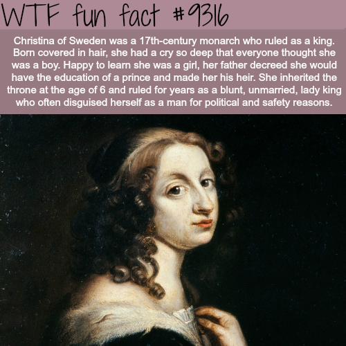 Christina of Sweden - WTF fun facts