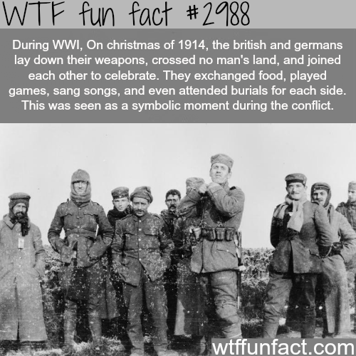 Christmas during World War 1  -  WTF fun facts