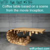 coffee table based on a scene from inception wtf