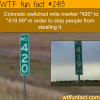 colorado switched mile marker 420 to 419 99
