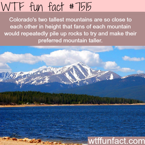 Colorado tallest mountains - WTF FUN FACTS