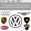companies owned by volkswagen