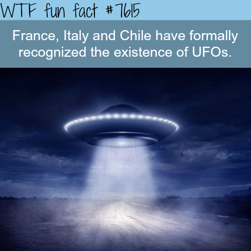 Countries that believe in existence of UFOs - WTF fun facts