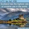 countries with the highest rate of cocaine use